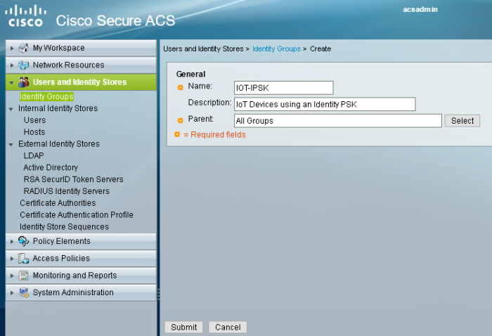 Identity PSK with Cisco Secure ACS – AirCover WiFi